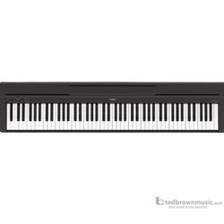ted brown music yamaha p45b digital piano. Black Bedroom Furniture Sets. Home Design Ideas