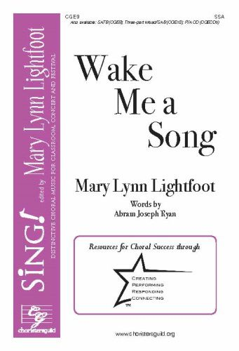 Wake Me a Song (Choral) SSA