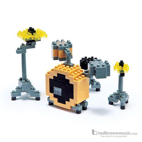 Nano Blocks 58137 Micro-Sized Drum Set