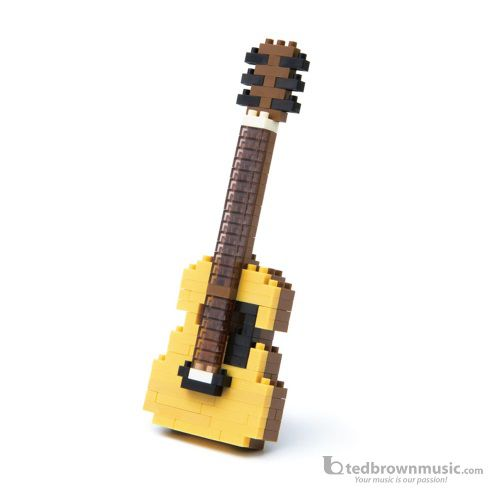 Nano Blocks 58324 Micro-Sized Acoustic Guitar