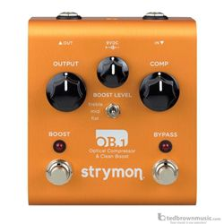 Strymon OB1 Optical Compressor and Clean Boost Pedal