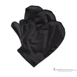 Black Microfiber Polish Mitten for All Finishes