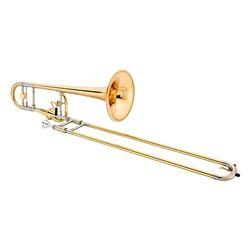 Jupiter XO 1236RL-T Bb/F Professional Rose Brass Trombone With Thru-Flo Valve