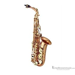 Antigua AS4240RLQ PowerBell Red Brass  Alto Sax