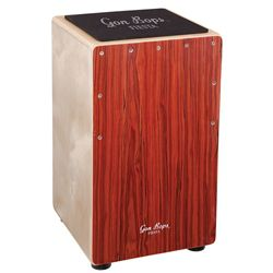 Gon Bops Fiesta Mahogany Cajon with Gig Bag