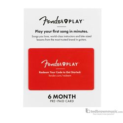 Fender Play Subscription Gift Card