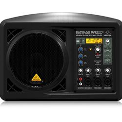 "Behringer Active 150-Watt 6.5"" PA/Monitor Speaker System with MP3 player"