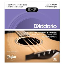 Bass Guitar Strings Taylor GS Mini Coated