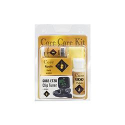 Howard Core String Care Kit With Clip On Tuner
