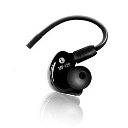 Mackie MP-120 Single Dynamic Driver In Ear Headphones
