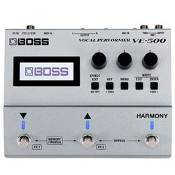 Boss VE-500 Vocal Processor Effect Pedal