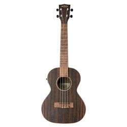 Kala KA-EBY-TE Striped Ebony Tenor Ukulele With EQ