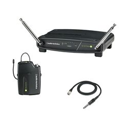 Audio Technica ATW-901a/G System 9 Frequency-agile VHF Guitar Wireless System