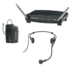 Audio Technica ATW-901a/H System 9 Frequency-agile VHF Headworn Wireless System