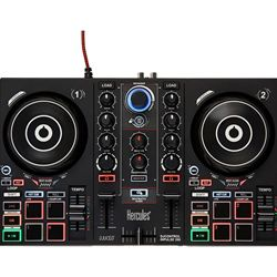 Hercules DJ Inpulse 200 Controller With Built In Sound Card