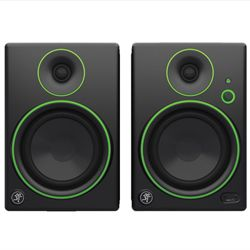 Mackie CR5BT Powered Studio Monitor Computer Speakers With Bluetooth