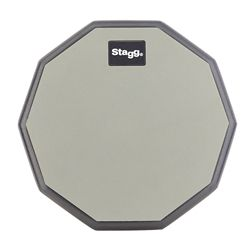 "Practice Pad 8"" Stagg Rubber"