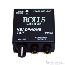 Rolls PM52 Signal Headphones with Loopthru