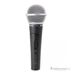 Shure SM58S Cardioid Vocal Microphone with Switch