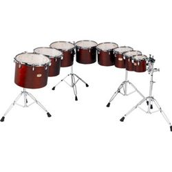 "Yamaha Concert Toms Intermediate  6""/8""/10""/12"" with Double Stand CTS6802"