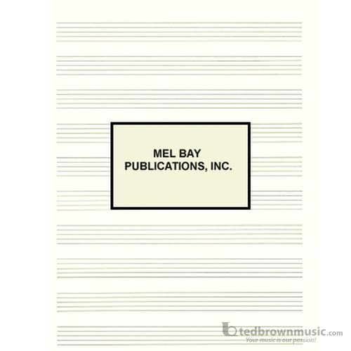 Mel Bay's Premium Quality Manuscript Pad 10 Staves