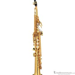 Yamaha YSS-82ZR Professional Custom Z Soprano Saxophone with Curved Neck